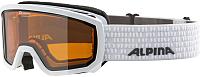 Маска горнолыжная Alpina Sports Scarabeo Jr DH S2 / A7258111 (р-р 7-14, белый) -