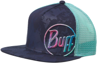Бейсболка Buff Trucker Cap Shining Navy (117242.787.10.00) -