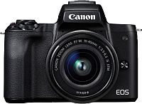 Беззеркальный фотоаппарат Canon EOS M50 Kit 15-45mm IS STM  / 2680C012 -