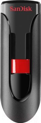 Фото - Usb flash накопитель SanDisk Cruzer Glide 32GB Black (SDCZ600-032G-G35) usb накопитель sandisk cruzer edge black red