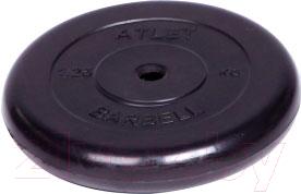Диск для штанги MB Barbell Atlet d26мм 1.25кг