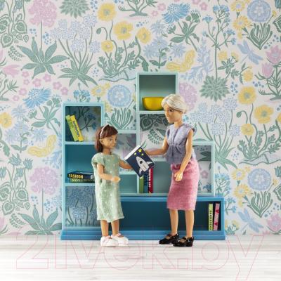 Комплект аксессуаров для кукольного домика Lundby Книжная полка / LB-60306000