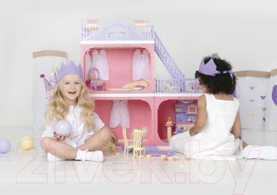 Кукольный домик Огонек Коттедж. Маленькая принцесса / С-1457