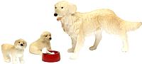 Комплект аксессуаров для кукольного домика Lundby Пес семьи со щенками / LB-60807400 -