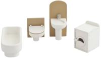 Комплект аксессуаров для кукольного домика Paremo Ванная комната / PDA417-04 -
