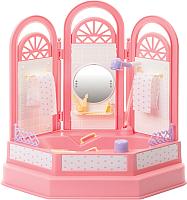 Комплект аксессуаров для кукольного домика Огонек Ванная комната. Маленькая принцесса / С-1335 -
