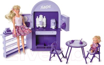 Комплект аксессуаров для кукольного домика Огонек Кафе-бар / С-1501