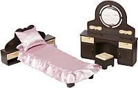Комплект аксессуаров для кукольного домика Огонек Мебель для спальни. Коллекция / С-1303 -