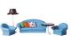 Комплект аксессуаров для кукольного домика Огонек Мебель для гостиной. Конфетти / С-1336 -
