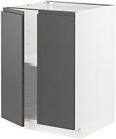 Шкаф-стол кухонный Ikea Метод 193.098.67 -