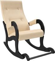 Кресло-качалка Импэкс 707 (венге/Polaris Beige) -