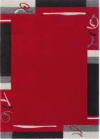 Ковер Devos Caby California 122 (160x230, красный) -