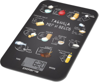 Кухонные весы Polaris PKS 1053DG (Chalk ) -