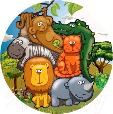 Развивающая игра Paremo Вкладыши. Африканские животные / PE720-01