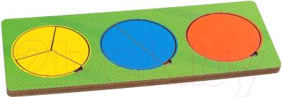 Развивающая игрушка Paremo Вкладыши 3 круга / PE720-29
