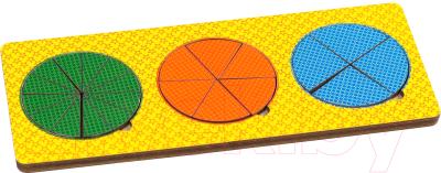 Развивающая игрушка Paremo Вкладыши 3 круга / PE720-30