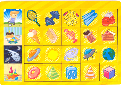 Развивающая игра Paremo Вкладыши. Логические цепочки / PE720-16