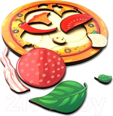 Развивающая игра Paremo Вкладыши. Пицца / PE720-04