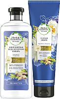 Набор косметики для волос Herbal Essences Мицеллярная вода и голубой имбирь (400мл+275мл) -