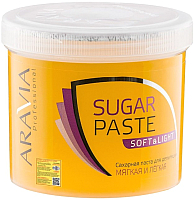 Паста для шугаринга Aravia Professional мягкая и легкая сахарная (750г) -