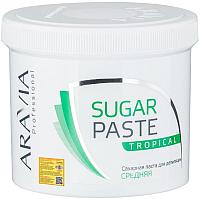 Паста для шугаринга Aravia Professional тропическая сахарная (750г) -