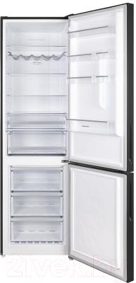 Холодильник с морозильником Maunfeld MFF 200NFB