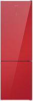 Холодильник с морозильником Maunfeld MFF 200NFR -