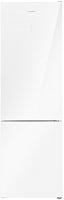 Холодильник с морозильником Maunfeld MFF 200NFW -