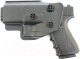 Пистолет страйкбольный GALAXY G.15+ (с кобурой) -