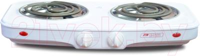 Электрическая настольная плита Cezaris ПЭ Нс 2001-00 плита электрическая gefest пэ 720 белый эмаль настольная