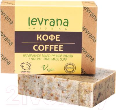 Мыло твердое Levrana натуральное Кофе (100г)