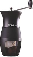 Кофемолка механическая Sakura SA-6159BK -