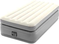 Надувная кровать Intex Prime Comfort Elevated 64162 (встроенный электронный насос/сумка/ремкомплект) -
