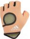 Перчатки для пауэрлифтинга Adidas ADGB-12633 (S, Chalk Coral) -