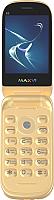Мобильный телефон Maxvi E3 (золото) -