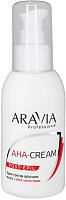 Крем после депиляции Aravia Professional с АНА кислотами (100мл) -