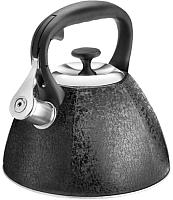 Чайник со свистком Lara LR00-72 (черный) -