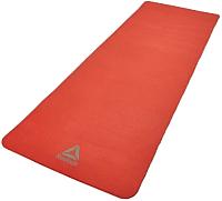 Коврик для йоги и фитнеса Reebok RAMT-11014RD (красный) -
