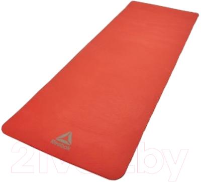 Коврик для йоги и фитнеса Reebok RAMT-11014RD (красный)
