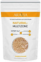 Воск для депиляции Aravia Professional Natural-Multizone универсальный (1кг) -