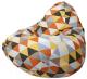 Бескаркасное кресло Flagman Relax P2.4-115 (ромб 04) -