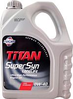 Моторное масло Fuchs Titan Supersyn Longlife 0W40 / 601425271 (5л) -