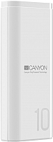 Портативное зарядное устройство Canyon CNE-CPB010W (белый) -