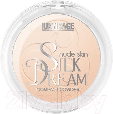 Фото - Пудра компактная LUXVISAGE Silk Dream Nude Skin тон 2 luxvisage румяна silk dream тон 4