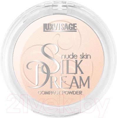 Фото - Пудра компактная LUXVISAGE Silk Dream Nude Skin тон 3 luxvisage румяна silk dream тон 4
