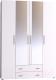 Шкаф Глазов Монако 555 (белый) -