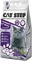 Наполнитель для туалета Cat Step Compact White Lavеnder / 20313009 (5л) -