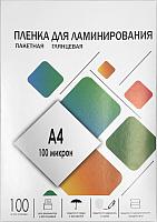 Пленка для ламинирования Гелеос LPA4-100 216x303 100мик -