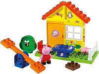 Конструктор BIG Летний домик Peppa Pig / 800057073 (19 эл) -