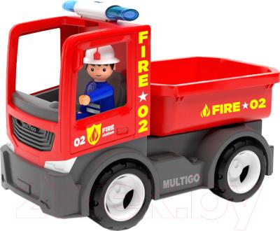 Автомобиль игрушечный EFKO Пожарный грузовик / 27284EF-CH